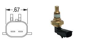 New OEM Oil Temperature Sensor for Detroit Diesel Series 60 23527830