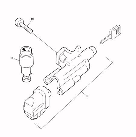 Volvo Truck 8097798 Lock Kit
