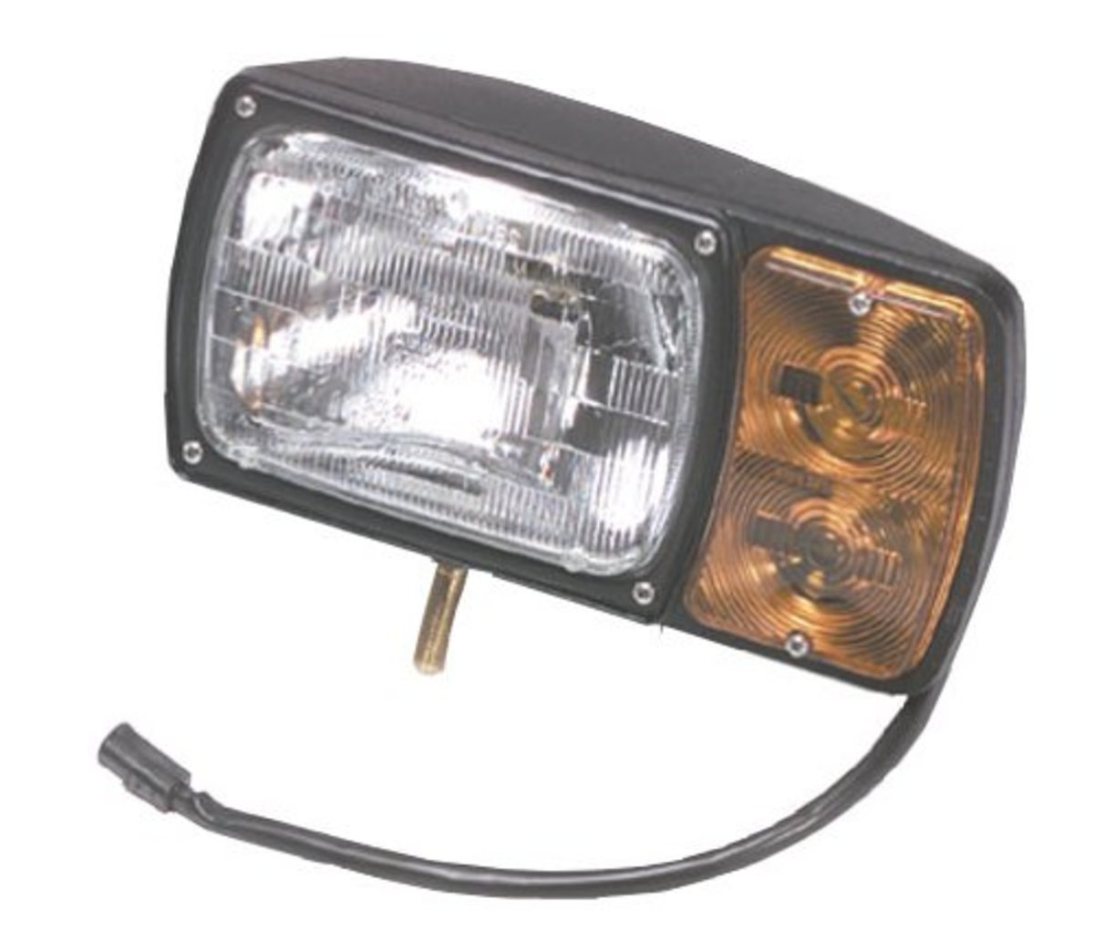 Grote Snowplow LH Lamp Kit with Universal Wiring Harness 63381 [ 1032 x 1200 Pixel ]